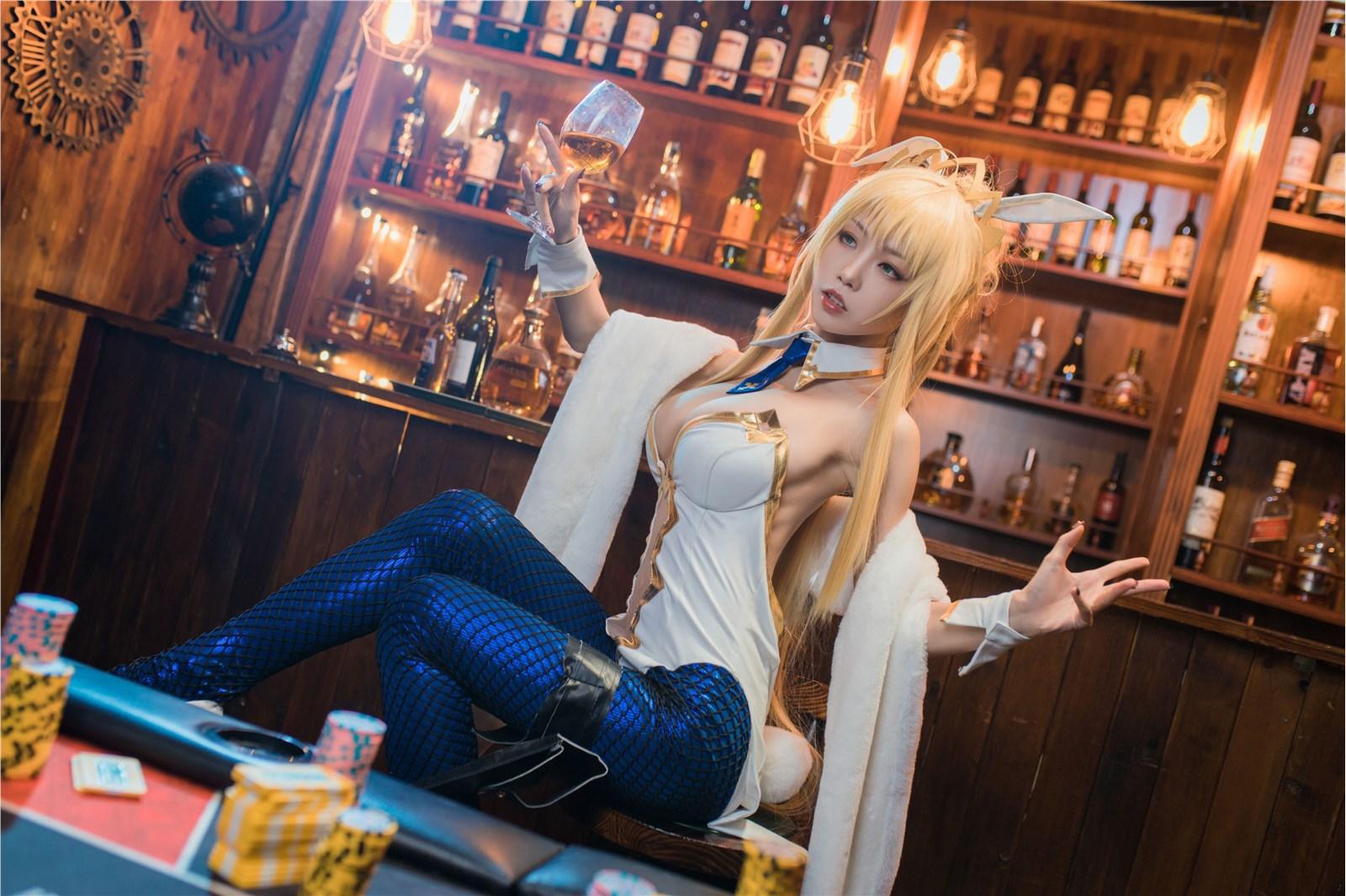 cosplay 水淼 白枪呆(25P)