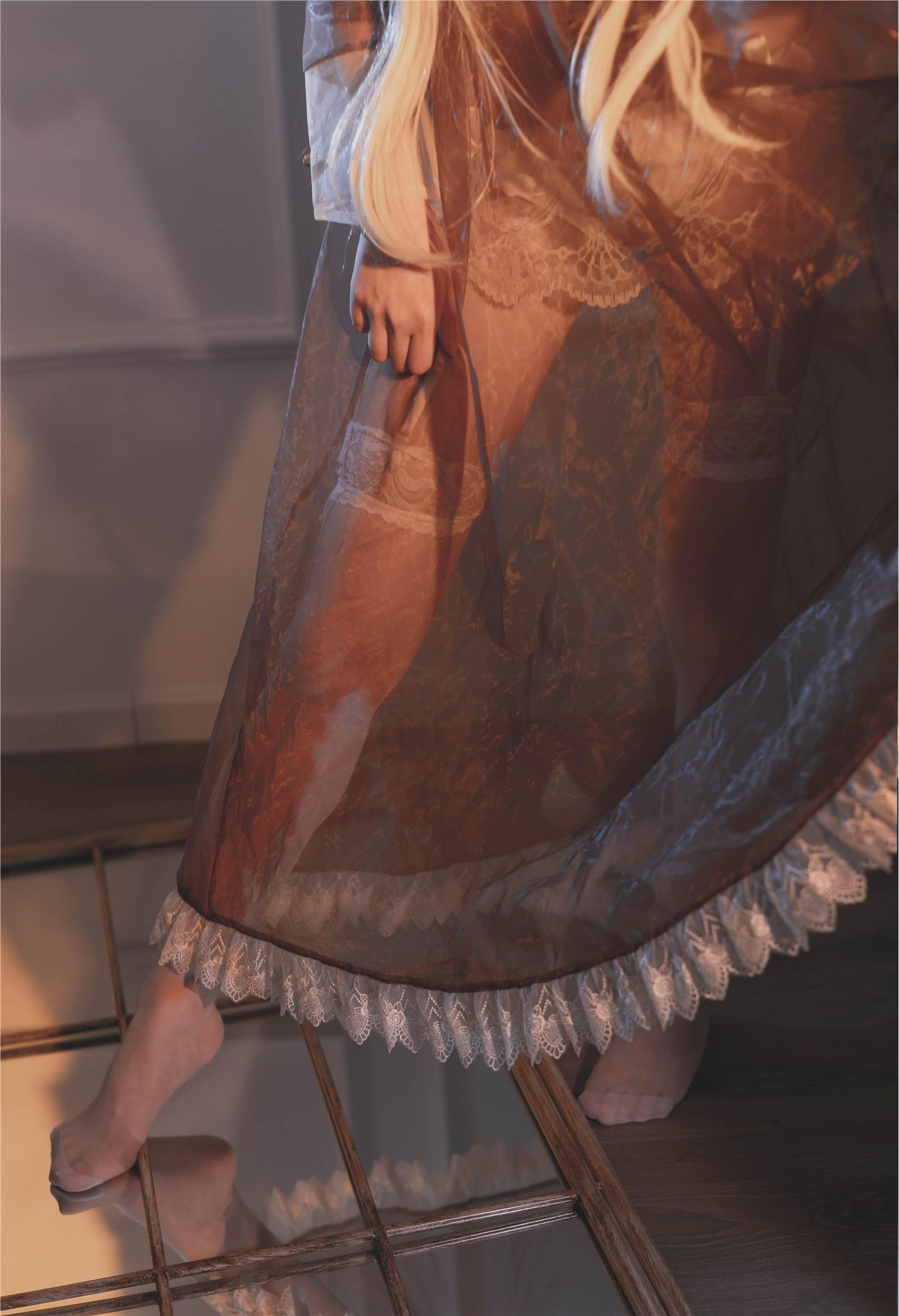 福利姬嘎潼 - 透明女仆