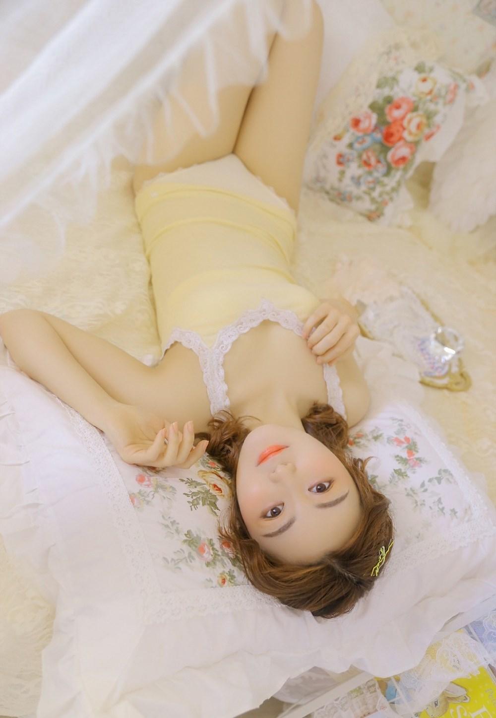 吊带体操制服美女销魂大胆美腿玉足私房性感写真(8)